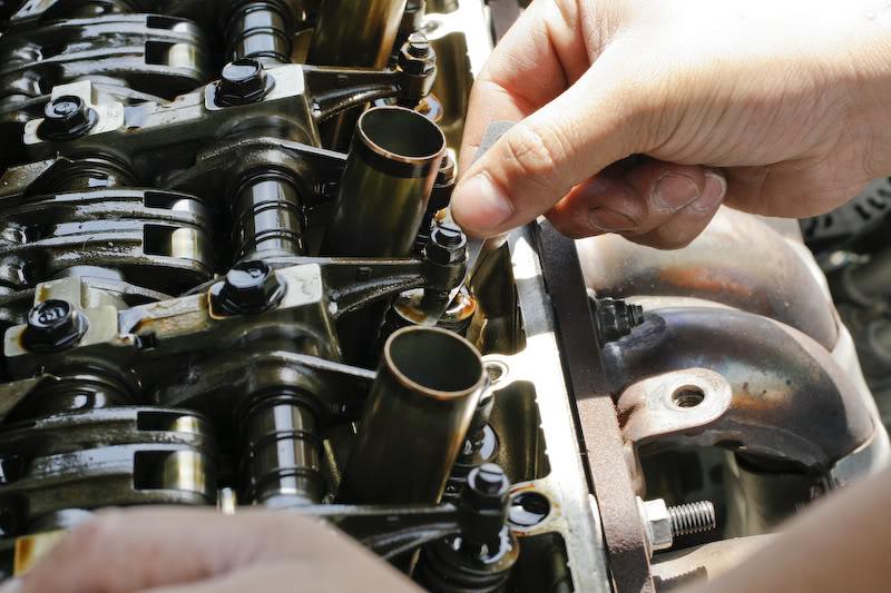 03 honda civic valve adjustment specs