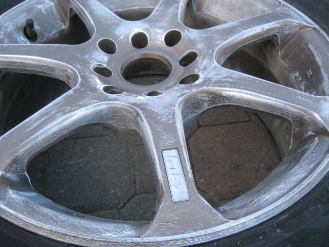 09e817111524f8ee534bad3f5397d3db  Painting your own rims at home