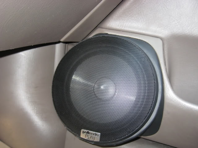 Custom speaker pods and tweeter mounts   Honda Civic DIY