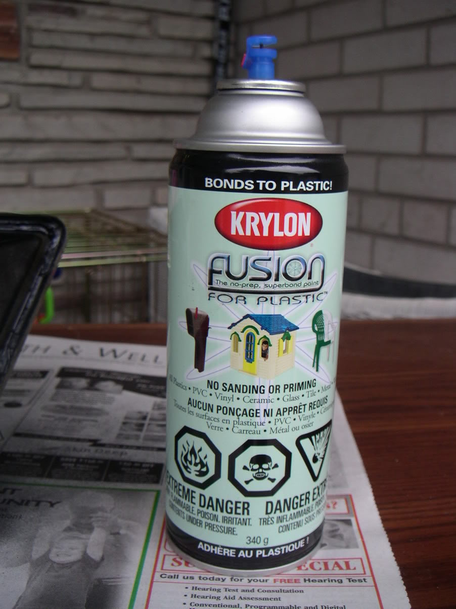get your self some black paint and silicone i used krylon fusion for. Black Bedroom Furniture Sets. Home Design Ideas