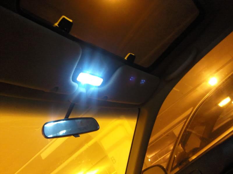 Led Dome Light In Ek Hatchback