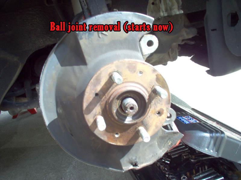 1a64905506518fad5757de51f7cb505e  G3 ball joint removal/install