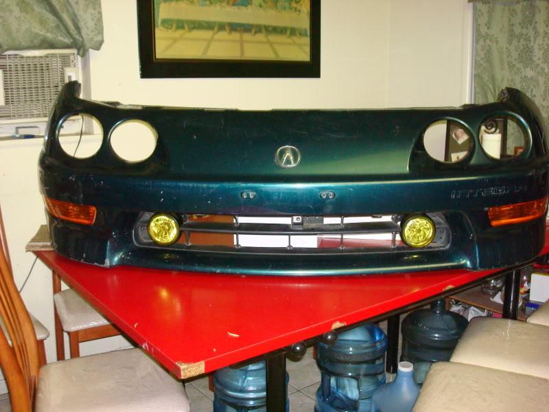 29badd5169ae11c454950c6ba70a7432  Civic foglight install