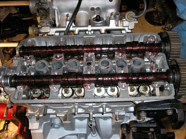 dc32684feb2f7bb1b1868b7a51d4f8ed  Install Valvesprings & Valve Seals