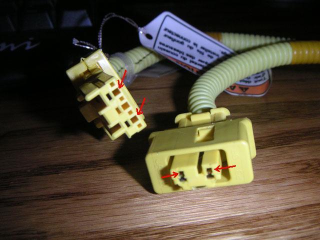 ed81b2991d815ca180a958a2e3b38413  Airbag clip swap OBD2 to OBD1